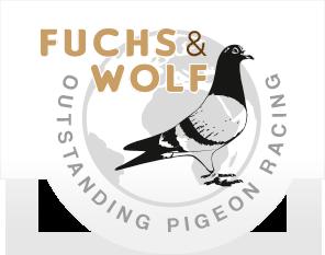 Logo Fuchs Wolf  Brieftauben